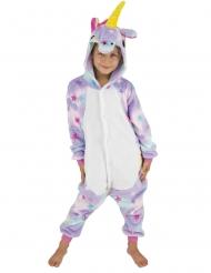 Disfraz traje unicornio con estrellas niño