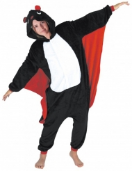 Disfraz mono murciélago adulto