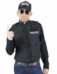 Chaleco antibalas policía adulto
