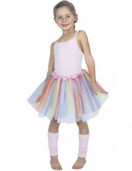 Tutú bailarina pastel multicolor niño