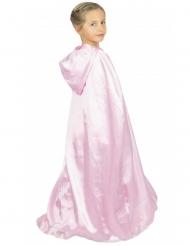 Capa princesa dulce rosa niña
