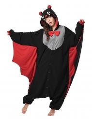 Disfraz Kigurumi™ murciélago adulto
