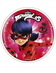Disco de ácimo Prodigiosa Ladybug™ 21 cm aleatorio