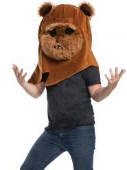 Máscara mascota Ewok™ adulto