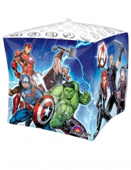Globo aluminio cubo Avengers™ 38 x 38 cm