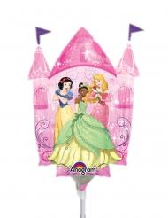 Globo de aluminio pequeño de castillo de princesa Disney™ 25 x 33 cm
