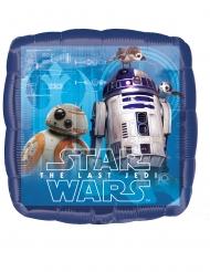 Globo aluminio cuadrado Star Wars El último Jedi™ 43 x 43 cm