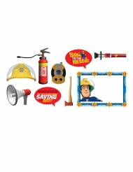 9 Accesorios Photobooth Sam el bombero™