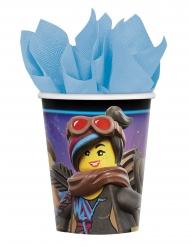 8 Vasos de cartón La gran aventurqa Lego 2™ 266 ml