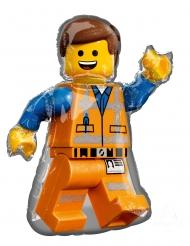 Globo de aluminio Emmet La gran aventura Lego 2™ 60 x 81 cm