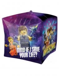 Globo aluminio en cubo La Gran Aventura Lego 2™