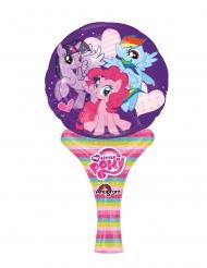 Globo pequeño aluminio My little Pony™ 15 x 30 cm