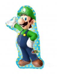 Globo aluminio Luigi Super Mario Bros™ 50 x 96 cm