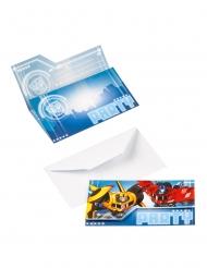 8 Invitaciones Transformers™