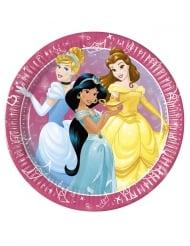 8 Platos de cartón Princesas Disney Dreaming™ 23 cm