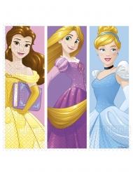 20 Servilletas de papel Princesas Disney™ día de ensueño 33 x 33 cm