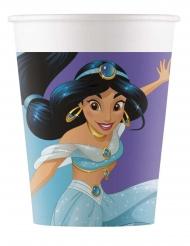 8 Vasos de cartón Princesas Disney™ Dreaming 200 ml