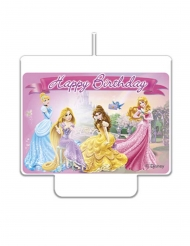 Vela happy birthday Disney Princesas™ 9 x 7 cm