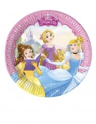 8 Platos pequeños Princesas Disney Dreaming™ 20 cm