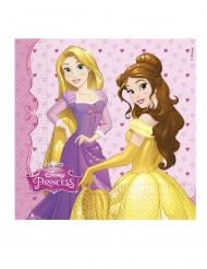20 Servilletas de papel Princesas Disney Dreaming™ 33 x 33 cm