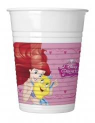 8 Vasos de plático Princesa Disney Dreaming™ 200 ml