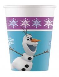 8 Vasos de cartón Frozen™ 200 ml