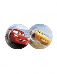8 Platos pequeños Flash McQueen & Cruz Ramirez Cars 3™ 20 cm