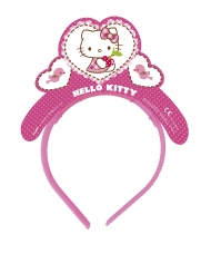 4 Tiaras de cartón Hello Kitty™