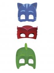 6 Máscaras de cartón PJ Masks™