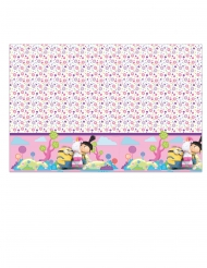 Mantel de plástico Minions unicornio™ 120 x 180 cm