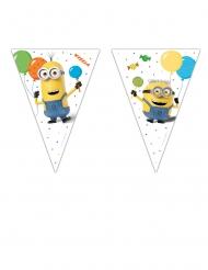 Guirlanda 9 banderines Minions™ ballons party 2.3 m