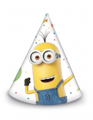 6 Gorritos de los Minions™ ballons party