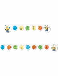Guirlanda happy birthday Minions globos party™ 2 m