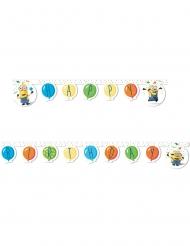 Guirlanda happy birthday Minions globos party™ 2 m