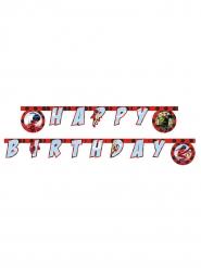 Guirlanda Happy Birthday Miraculous Ladybug™ 2 m