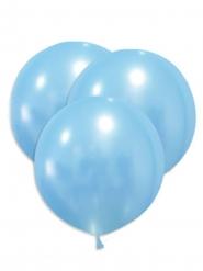 5 Globos gigantes de látex azules 47 cm