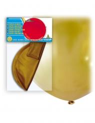 Globo gigante de látex dorado 80 cm