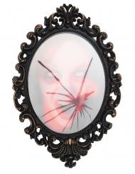 Espejo del horror sonoro y luminoso 55 x 34 x 7 cm