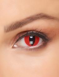 Lentillas fantasía ojo de gato rojo adulto