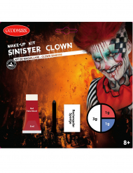 Kit de maquillaje payaso del miedo