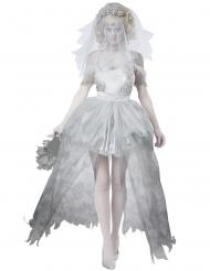 Disfraz novia fantasma talla grande mujer