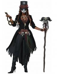 Disfraz hechicera vudú mujer