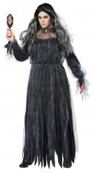 Disfraz novia gótica endemoniada para mujer