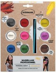 Paleta profesional maquillaje de agua 9 tarros 4g