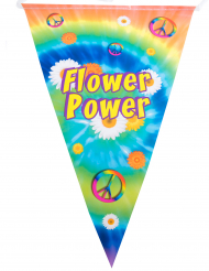 Guirnalda banderín hippie 5 m