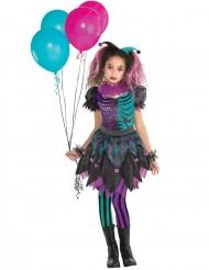 Disfraz arlequín desequilibrada niña