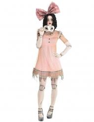 Disfraz muñeca de horror mujer