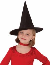 Sombrero de bruja negro niña