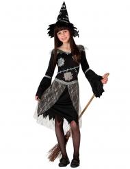 Disfraz bruja espantapájaros niña