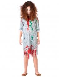 Disfraz zombie camisa de dormir niña